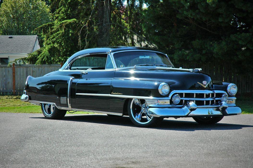 1952 Cadillac Series 62 Coupe Hotrod Streetrod Hot Rod Street USA 1500x12000-06 wallpaper
