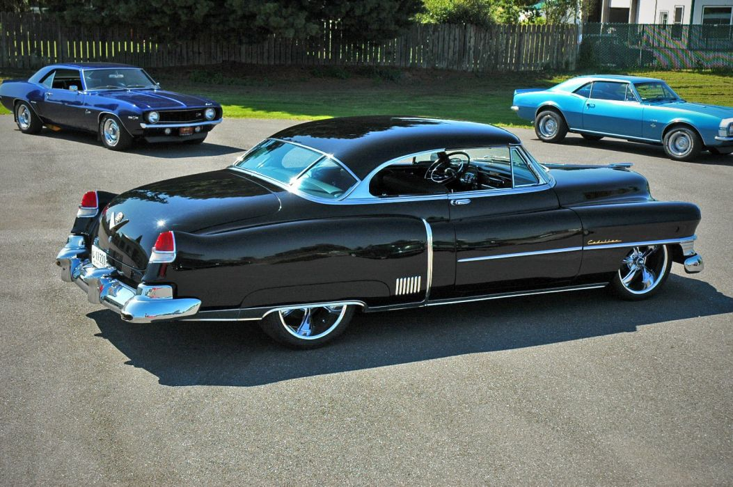 1952 Cadillac Series 62 Coupe Hotrod Streetrod Hot Rod Street USA 1500x12000-04 wallpaper