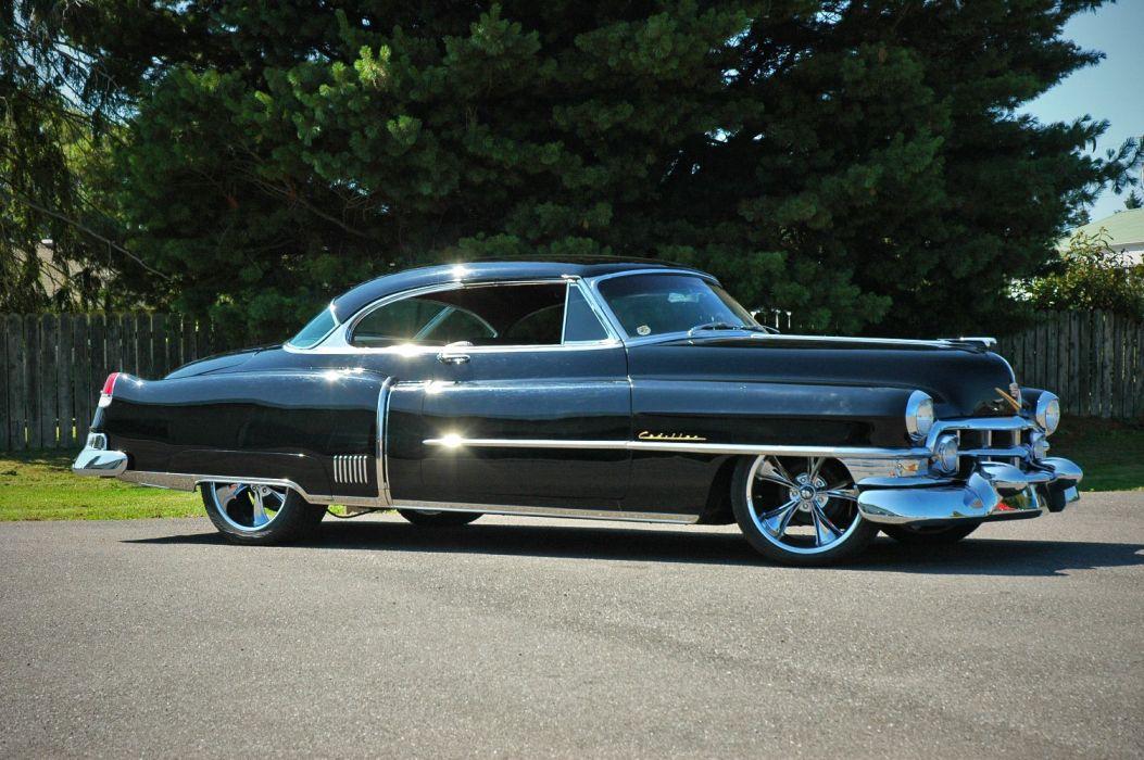 1952 Cadillac Series 62 Coupe Hotrod Streetrod Hot Rod Street USA 1500x12000-07 wallpaper