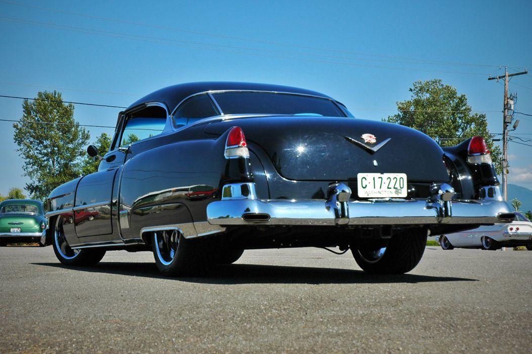 1952 Cadillac Series 62 Coupe Hotrod Streetrod Hot Rod Street USA 1500x12000-08 wallpaper