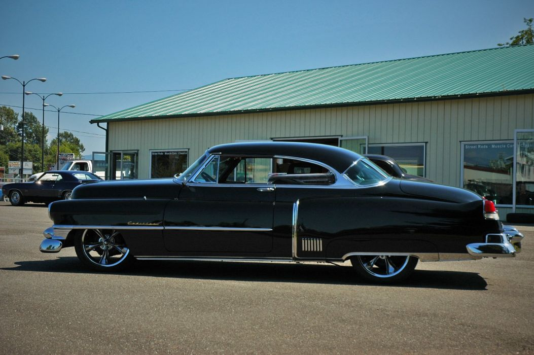 1952 Cadillac Series 62 Coupe Hotrod Streetrod Hot Rod Street USA 1500x12000-09 wallpaper