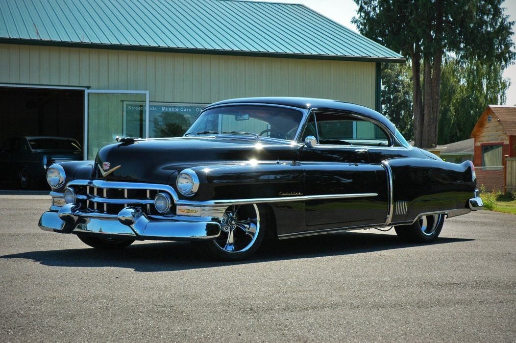 1952 Cadillac Series 62 Coupe Hotrod Streetrod Hot Rod Street USA 1500x12000-10 wallpaper