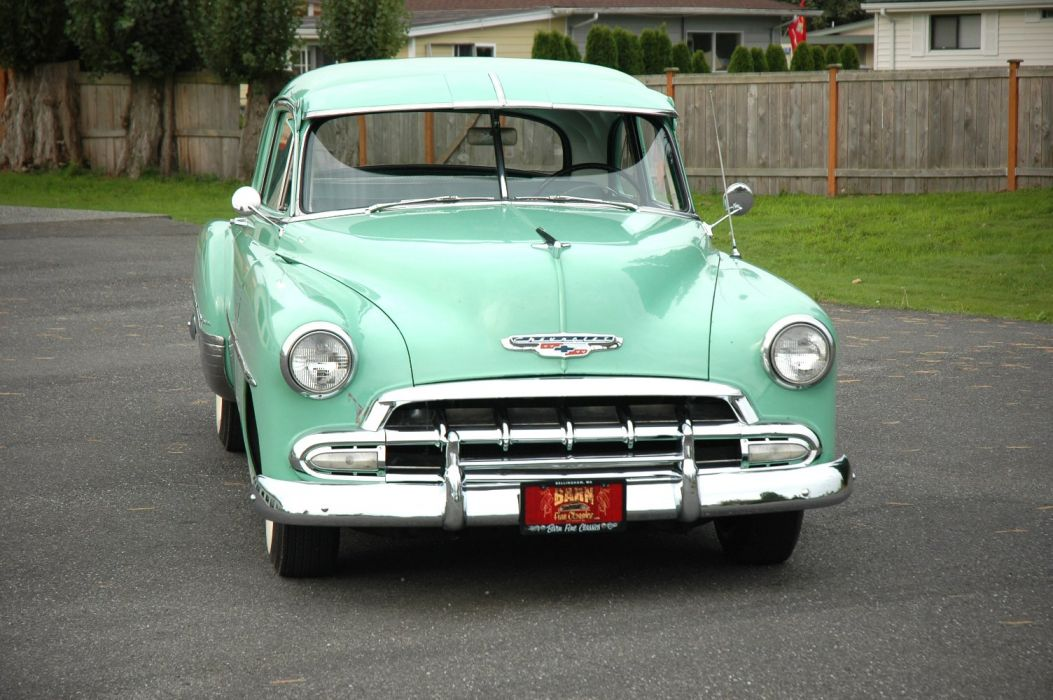 1952 Chevrolet Fleetmaster Deluxe Coupe Classic Old Vintage USA 1500x1000-01 wallpaper