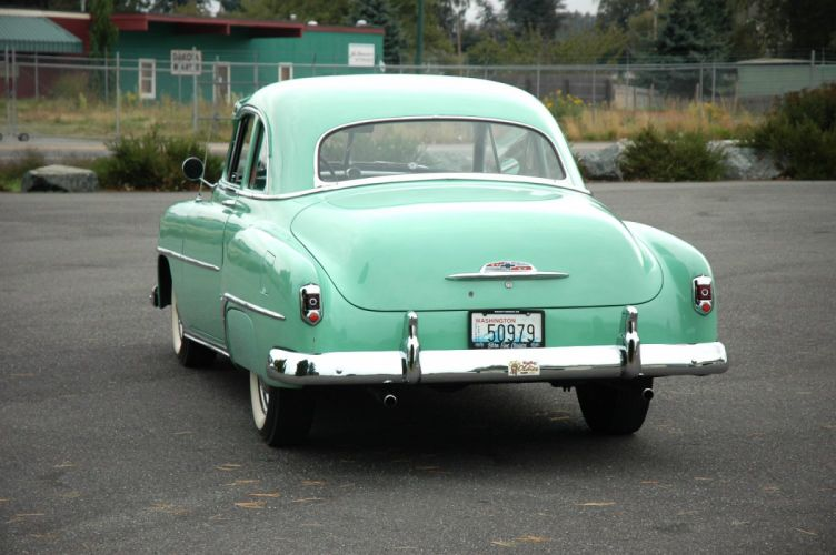 1952 Chevrolet Fleetmaster Deluxe Coupe Classic Old Vintage USA 1500x1000-03 wallpaper