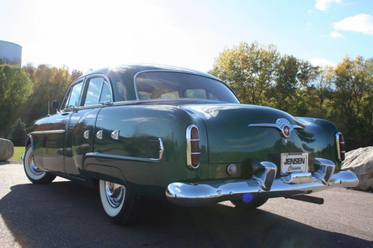 1952 Packard 200 Deluxe Sedan Classic Old Vintage USA 1728xc1152-04 wallpaper