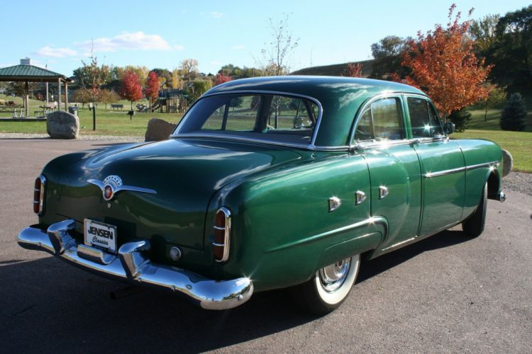 1952 Packard 200 Deluxe Sedan Classic Old Vintage USA 1728xc1152-06 wallpaper