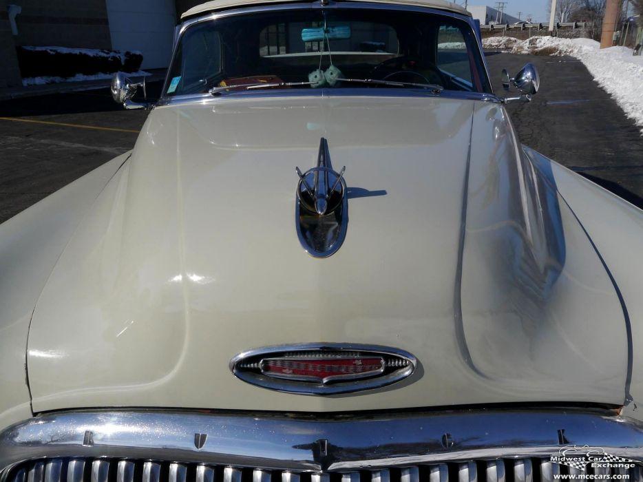 1953 Buick Eight Roadmaster Convertible Classic Old Vintage Original USA -04 wallpaper