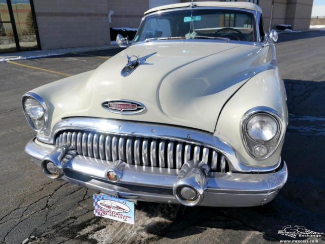 1953 Buick Eight Roadmaster Convertible Classic Old Vintage Original USA -07 wallpaper