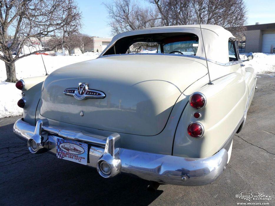 1953 Buick Eight Roadmaster Convertible Classic Old Vintage Original USA -09 wallpaper