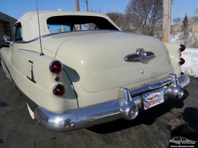 1953 Buick Eight Roadmaster Convertible Classic Old Vintage Original USA -17 wallpaper