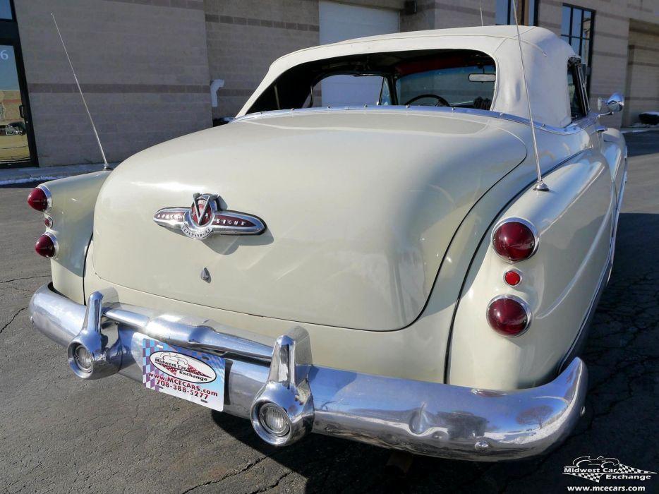 1953 Buick Eight Roadmaster Convertible Classic Old Vintage Original USA -18 wallpaper