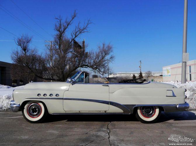 1953 Buick Eight Roadmaster Convertible Classic Old Vintage Original USA -27 wallpaper