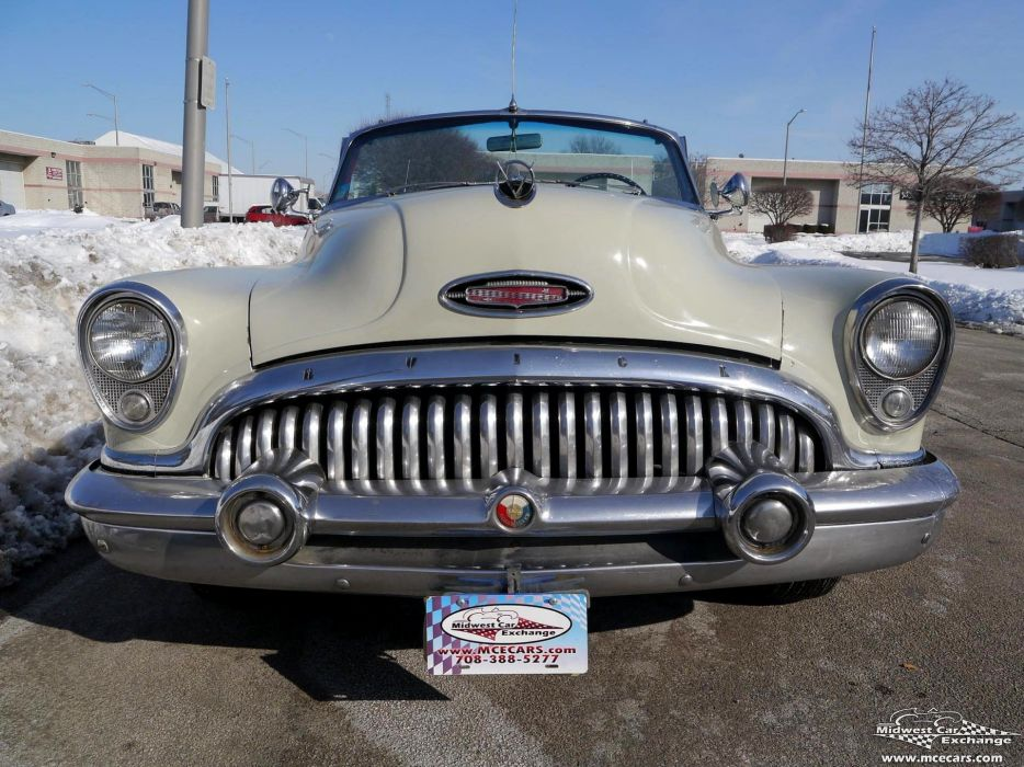 1953 Buick Eight Roadmaster Convertible Classic Old Vintage Original USA -28 wallpaper