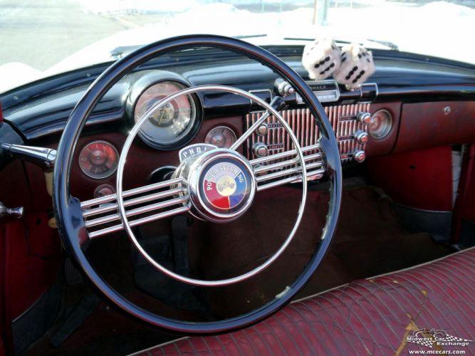 1953 Buick Eight Roadmaster Convertible Classic Old Vintage Original USA -30 wallpaper