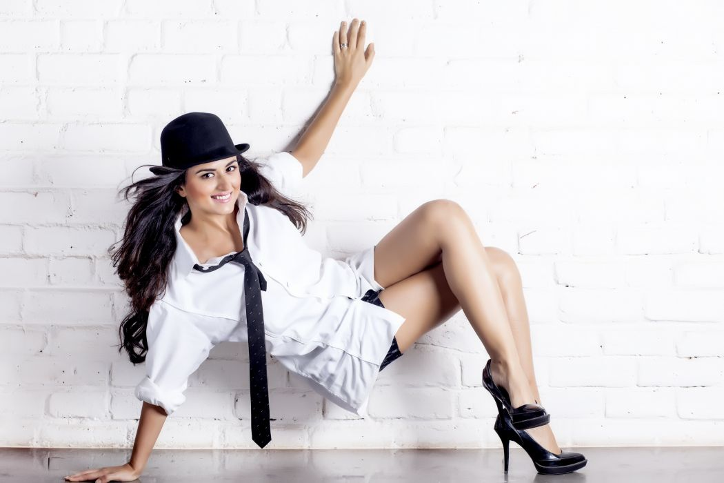 ridhi dogra bollywood actress model girl beautiful brunette pretty cute beauty sexy hot pose face eyes hair lips smile figure indian  wallpaper