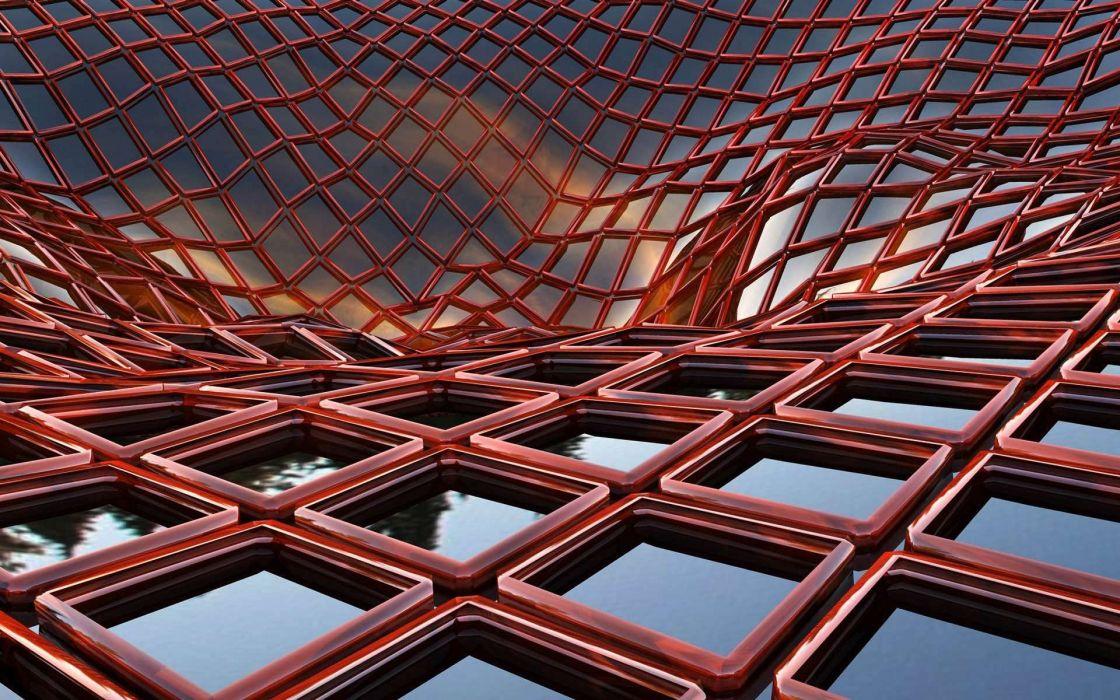 abstracto red roja cuadros wallpaper