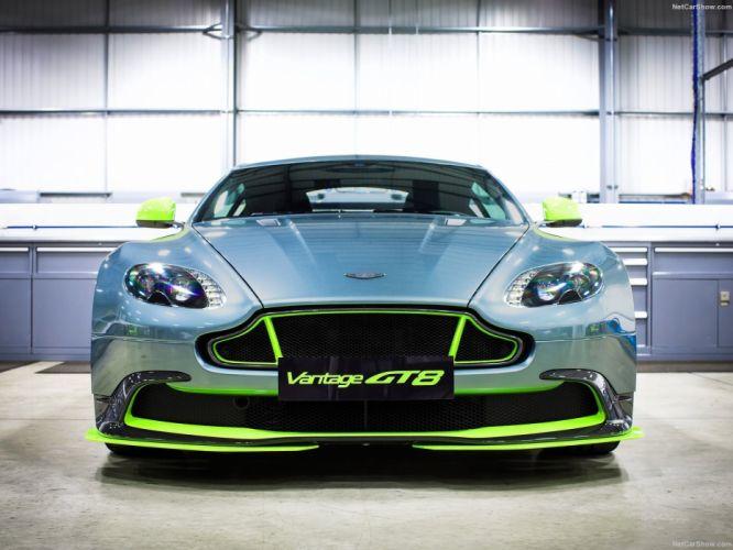 Aston Martin Vantage GT8 cars racecars 2016 wallpaper