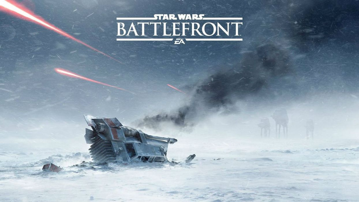 STAR WARS BATTLEFRONT sci-fi 1swbattlefront action fighting futuristic shooter poster wallpaper