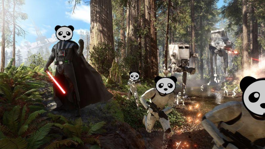STAR WARS BATTLEFRONT sci-fi 1swbattlefront action fighting futuristic shooter panda wallpaper