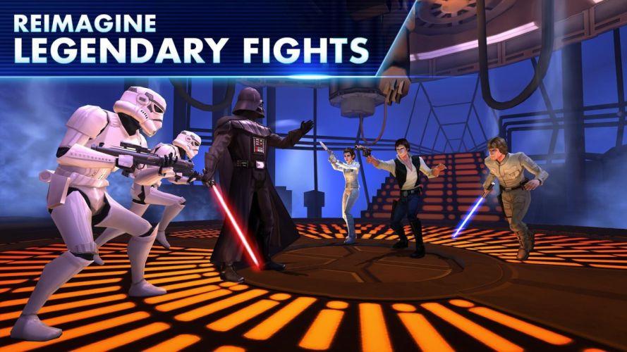 STAR WARS sci-fi action fighting futuristic series adventure disney poster wallpaper