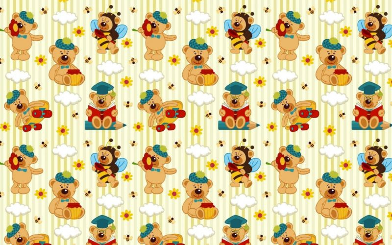 bears pictures texture wallpaper