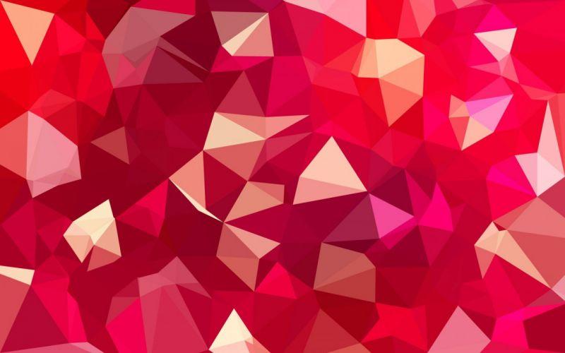 lines faces magenta geometry bending wallpaper