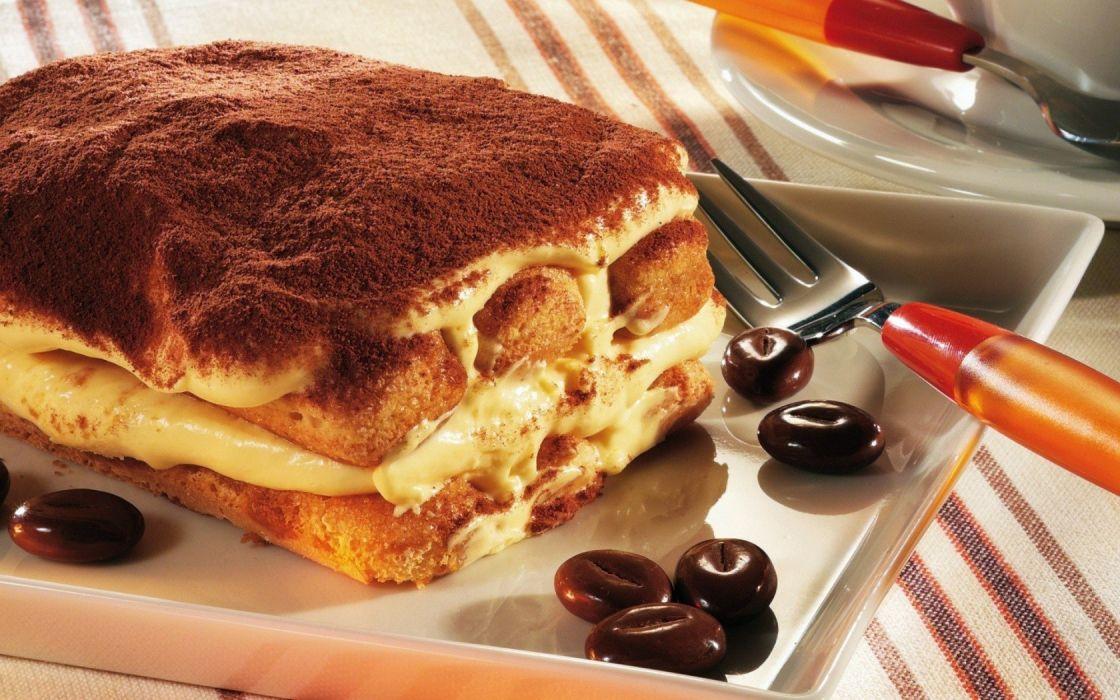 tiramisu cookies dessert cream wallpaper