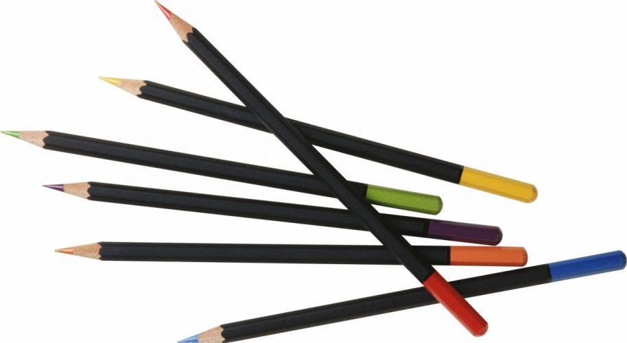 pencils colored rod wallpaper