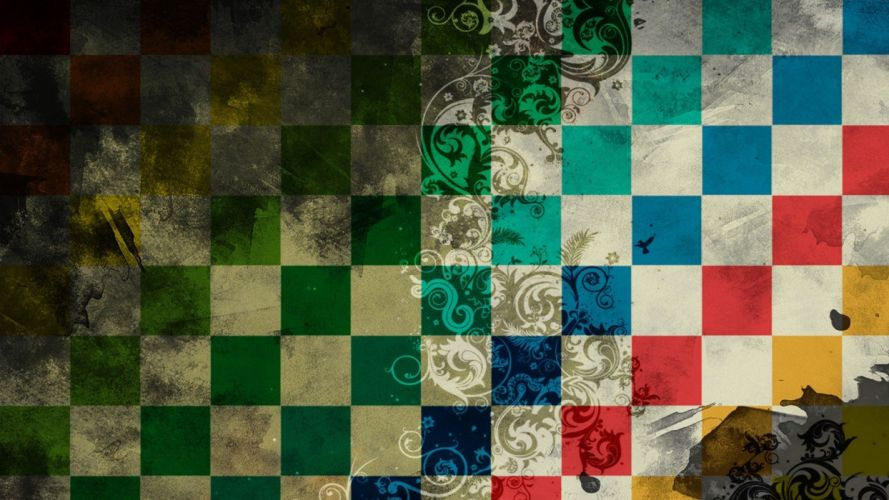 background texture colored squares patterns wallpaper