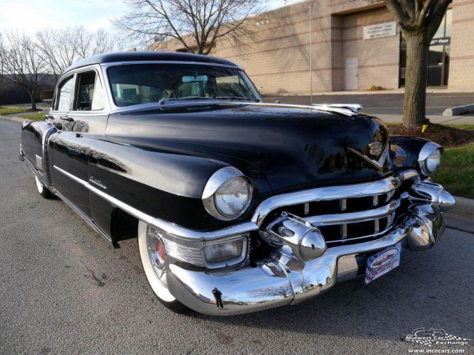 1953 Cadillac Fleetwood Series Sixty Classic Old Vintage Original USA -04 wallpaper
