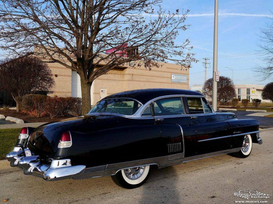 1953 Cadillac Fleetwood Series Sixty Classic Old Vintage Original USA -05 wallpaper
