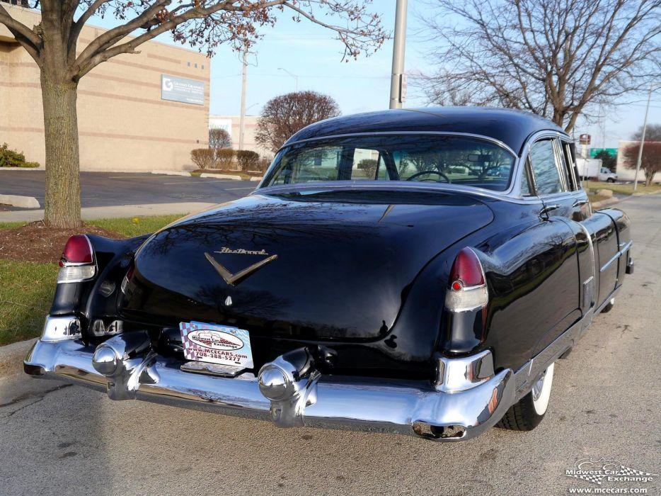 1953 Cadillac Fleetwood Series Sixty Classic Old Vintage Original USA -08 wallpaper