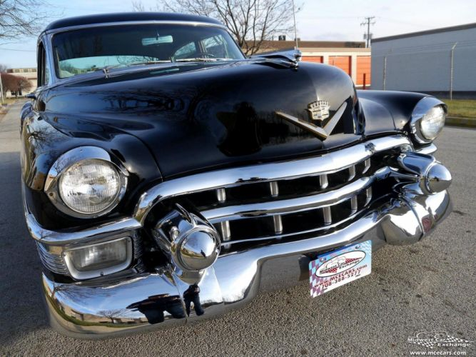1953 Cadillac Fleetwood Series Sixty Classic Old Vintage Original USA -09 wallpaper
