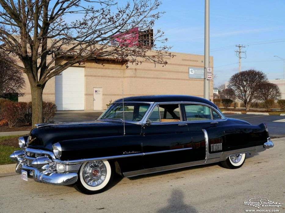 1953 Cadillac Fleetwood Series Sixty Classic Old Vintage Original USA -18 wallpaper