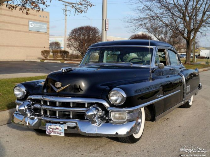 1953 Cadillac Fleetwood Series Sixty Classic Old Vintage Original USA -21 wallpaper