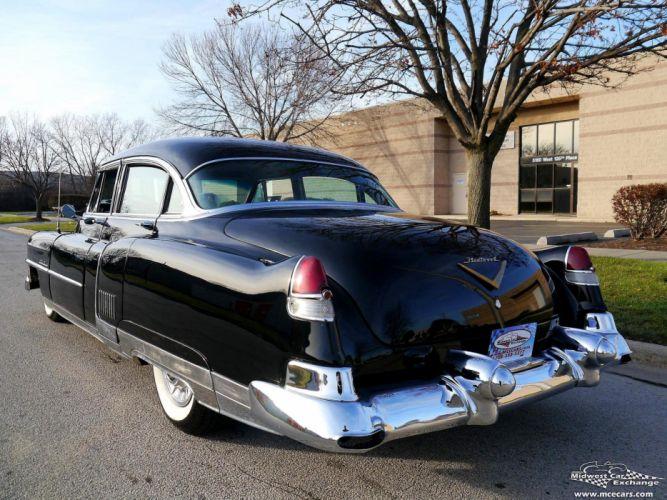 1953 Cadillac Fleetwood Series Sixty Classic Old Vintage Original USA -24 wallpaper