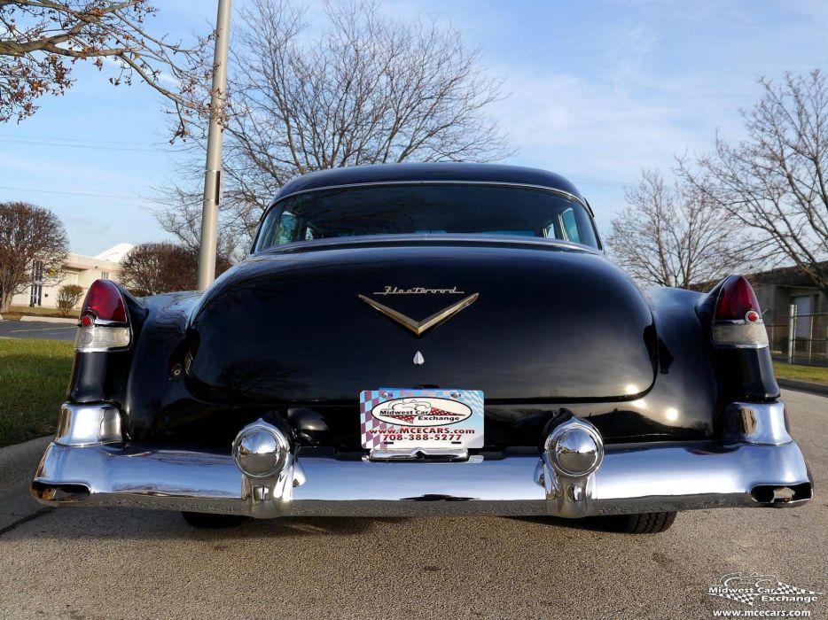 1953 Cadillac Fleetwood Series Sixty Classic Old Vintage Original USA -31 wallpaper