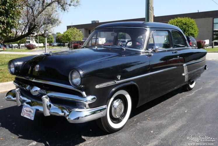 1953 Ford Customline Tudor Classic Old Vintage Original USA -08 wallpaper