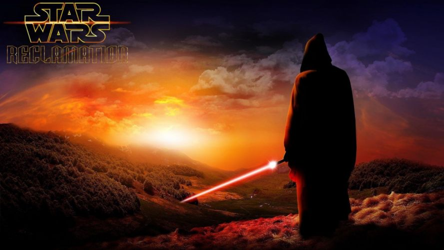STAR WARS sci-fi action fighting futuristic series adventure disney warrior poster wallpaper