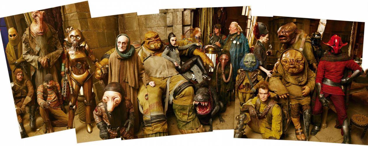 STAR WARS sci-fi action fighting futuristic series adventure disney warrior poster wallpaper