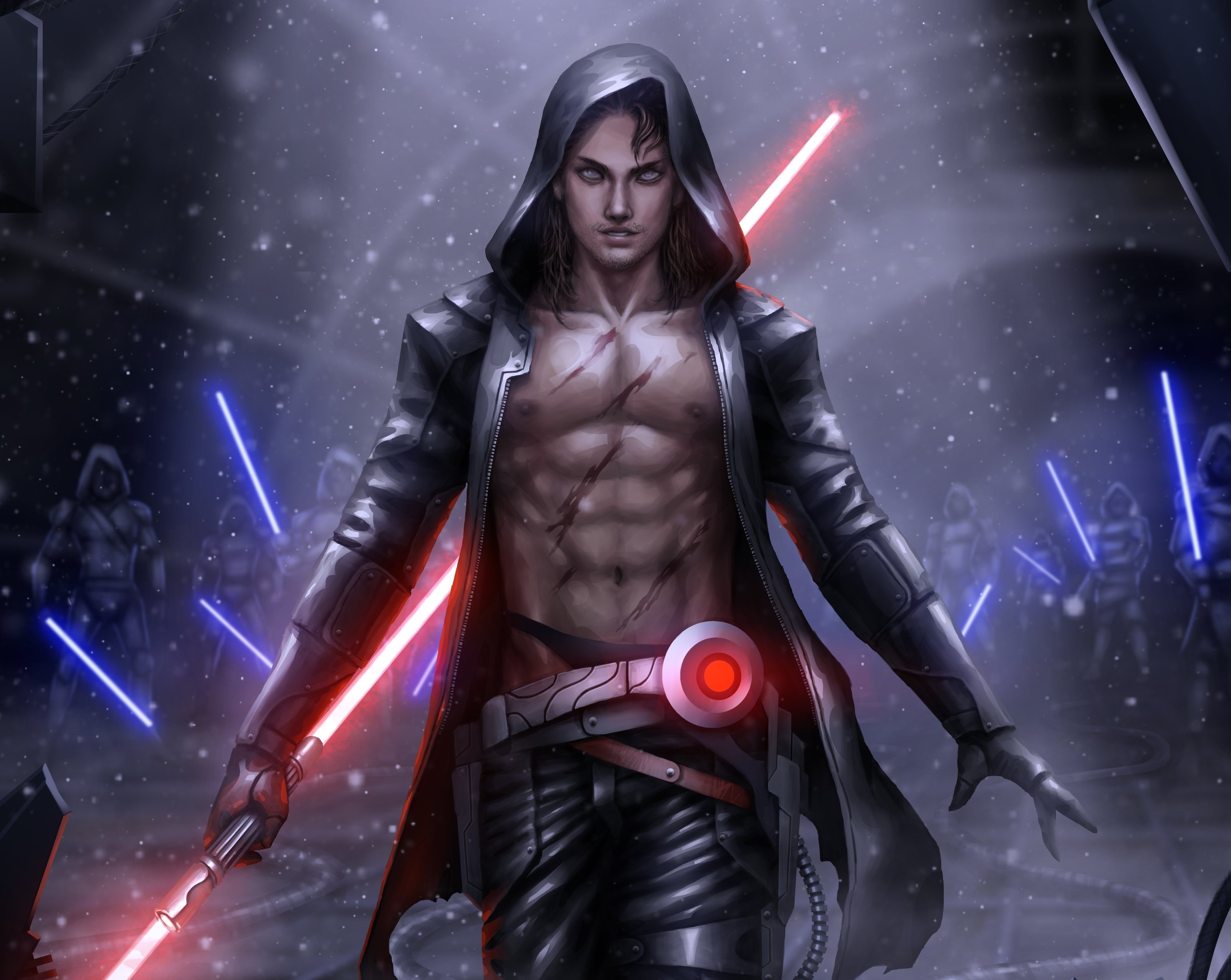 Free topless jedi wallpaper exploited images