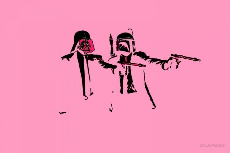 STAR WARS sci-fi action fighting futuristic series adventure disney warrior poster pulp fiction wallpaper