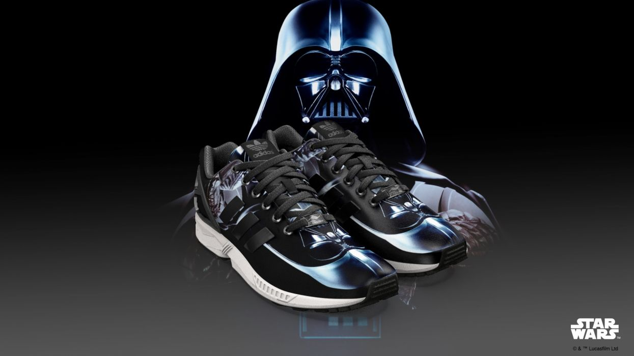 STAR WARS sci-fi action fighting futuristic series adventure disney adidas shoe shoes fashion poster wallpaper