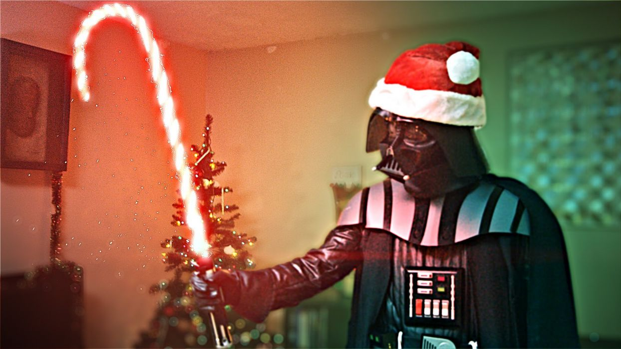 STAR WARS sci-fi action fighting futuristic series adventure disney christmas wallpaper
