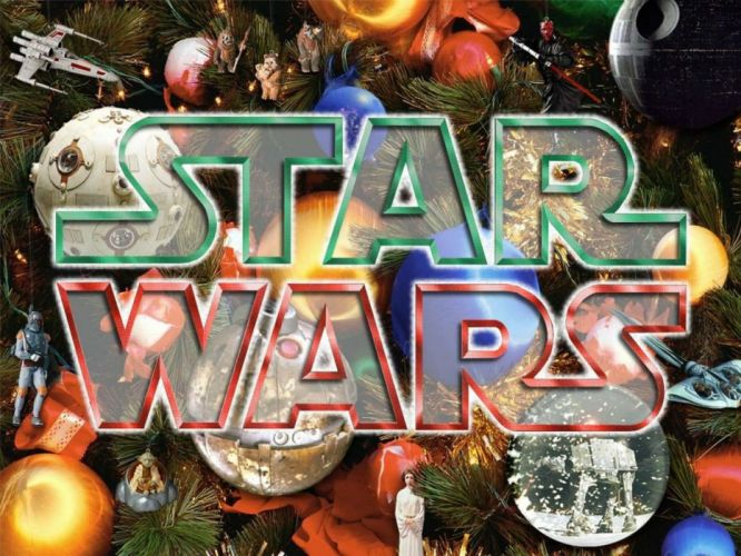 STAR WARS sci-fi action fighting futuristic series adventure disney christmas poster wallpaper