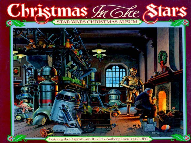STAR WARS sci-fi action fighting futuristic series adventure disney christmas poster wallpaper