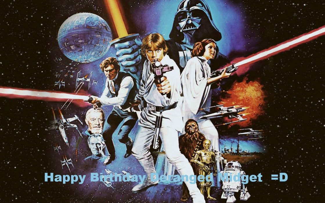 STAR WARS sci-fi action fighting futuristic series adventure disney birthday holiday poster wallpaper