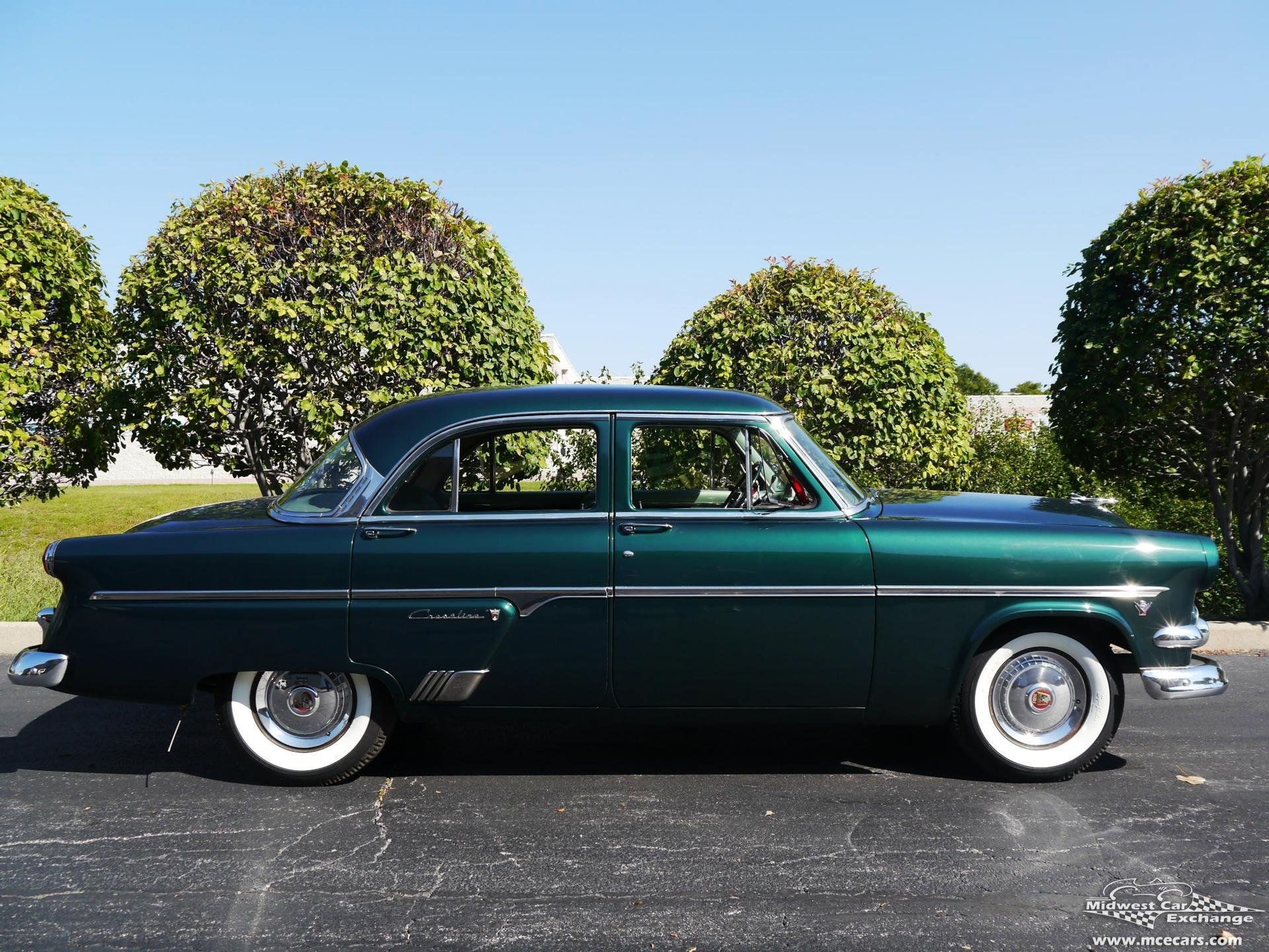 1954 ford crestline four door classic old vintage original