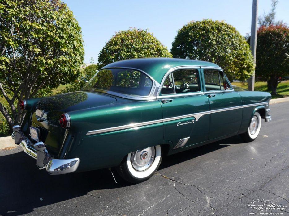 1954 Ford Crestline Four Door Classic Old Vintage Original USA -14 wallpaper