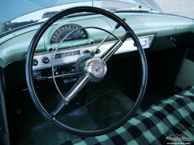 1954 Ford Crestline Four Door Classic Old Vintage Original USA -18 wallpaper